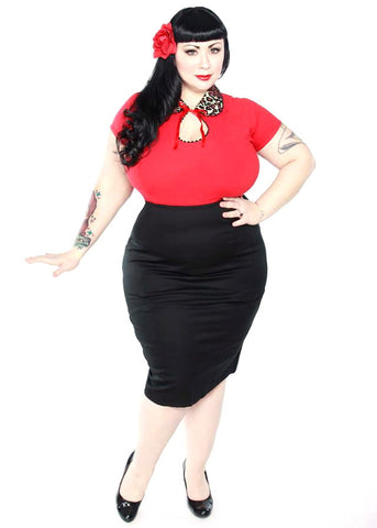 Custom Plus Size Skirts