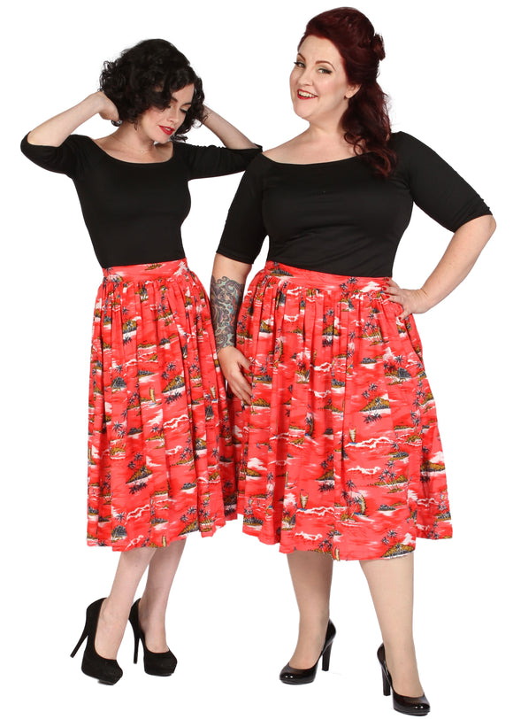 Make Your Own Gathered Skirt with Pockets