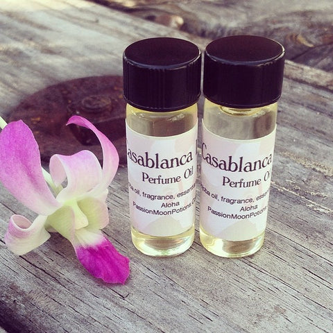 Casablanca Perfume Oil - Passion Moon Potions