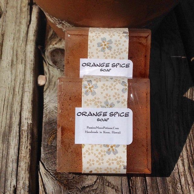 Orange Spice Soap - Passion Moon Potions - 1