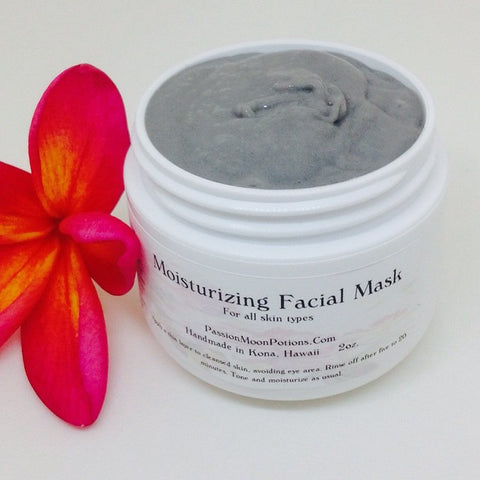 Moisturizing Facial Mask - Passion Moon Potions