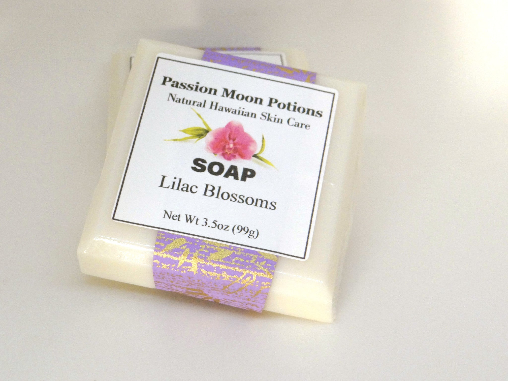 Lilac Blossoms Soap - Passion Moon Potions - 2