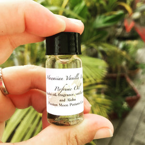 Hawaiian Vanilla Bean Perfume Oil