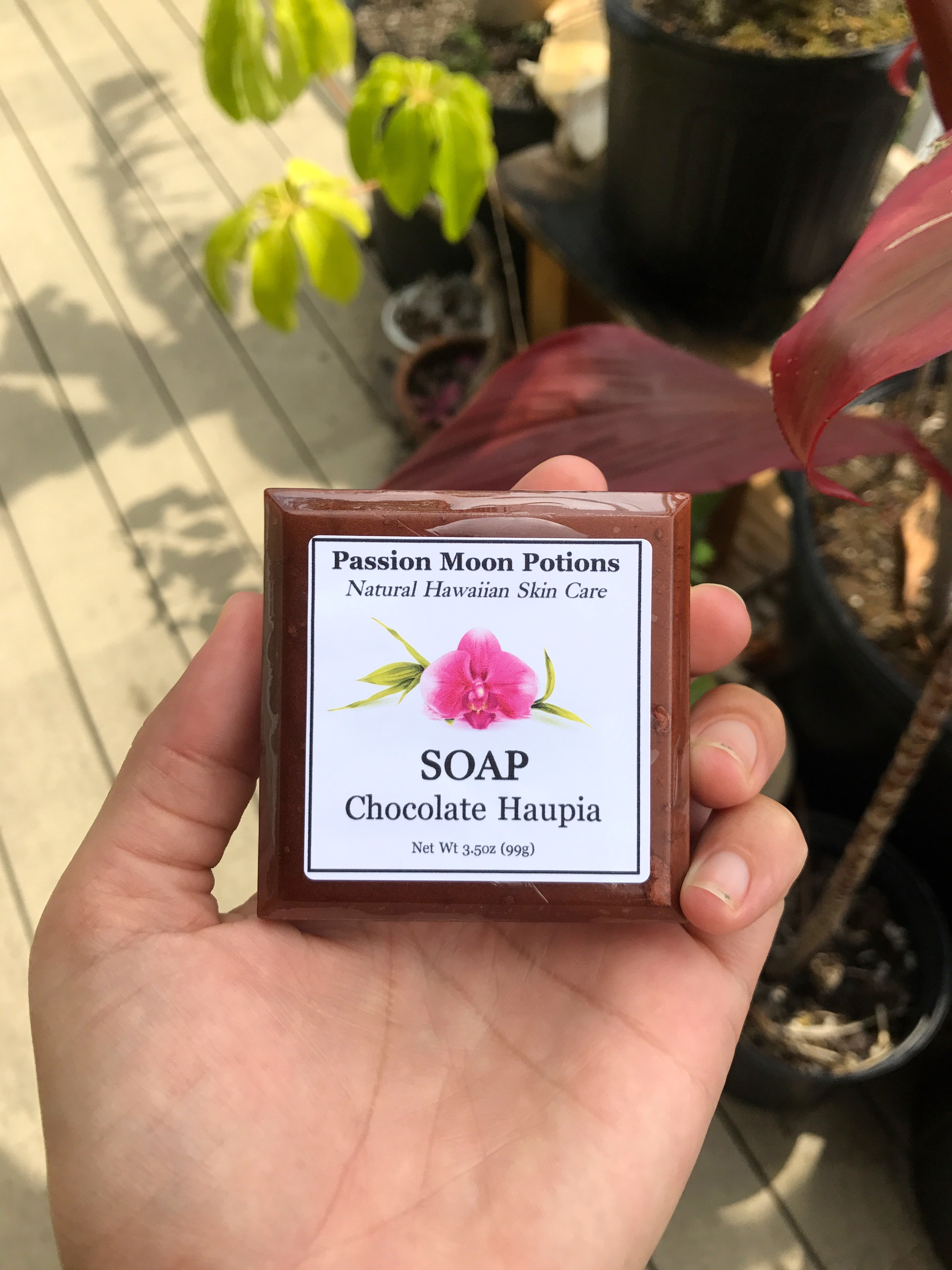Chocolate Haupia Soap