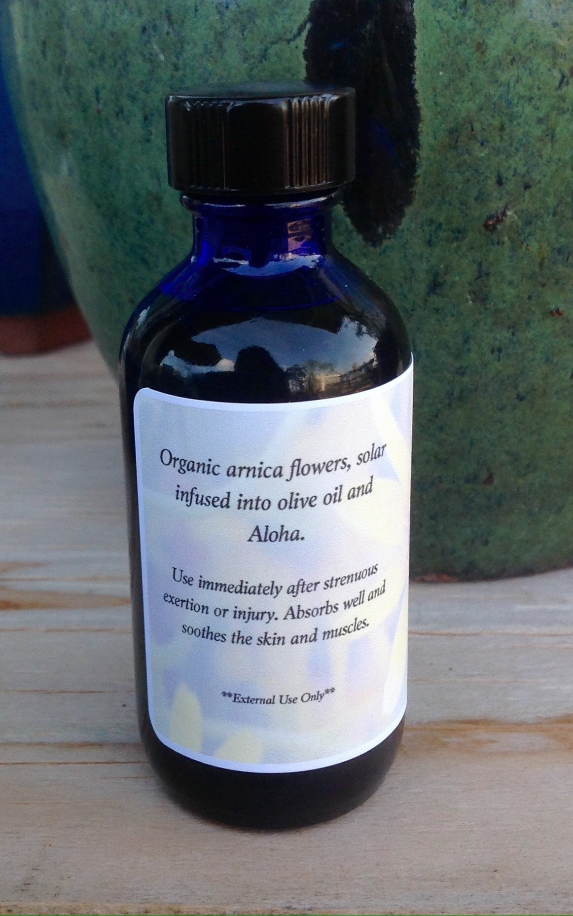 Arnica Infused Oil 2oz - Passion Moon Potions - 4