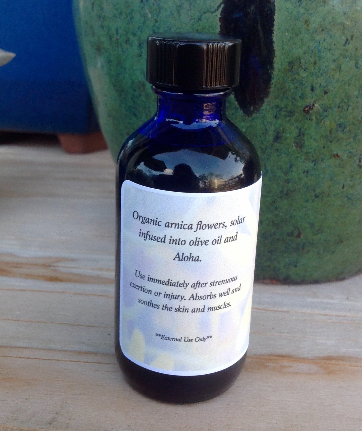 Arnica Infused Oil 2oz - Passion Moon Potions - 2