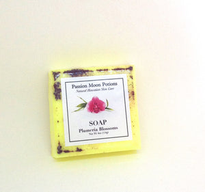 Plumeria Blossoms Soap - Passion Moon Potions - 1