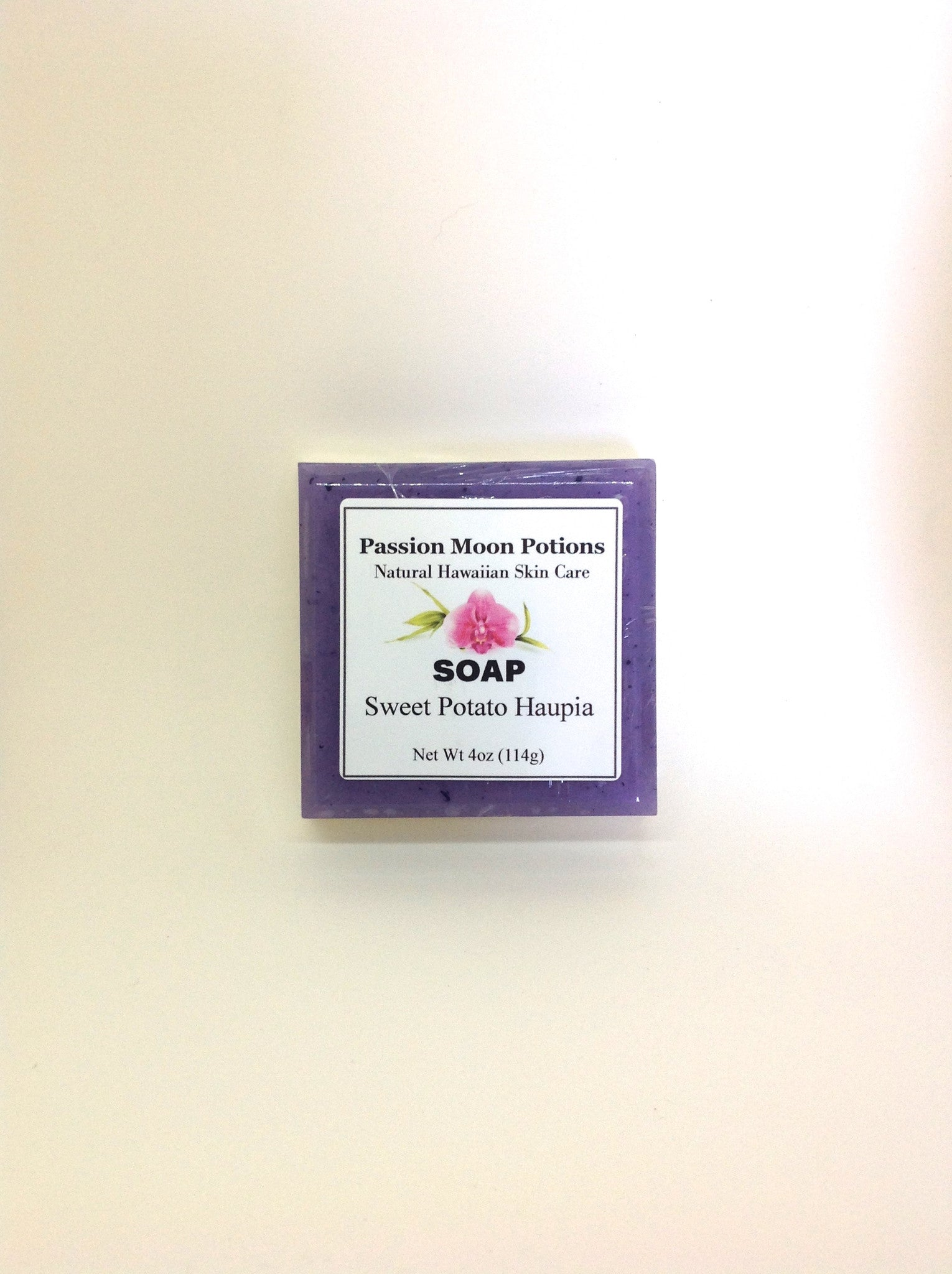 Sweet Potato Haupia Soap - Passion Moon Potions - 2