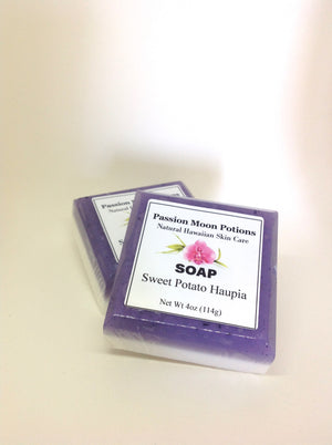 Sweet Potato Haupia Soap - Passion Moon Potions - 3