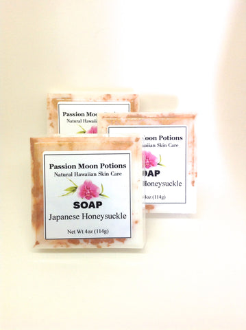 Japanese Honeysuckle Soap - Passion Moon Potions - 1