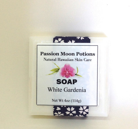 White Gardenia Soap - Passion Moon Potions - 1
