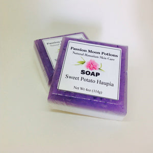 Sweet Potato Haupia Soap - Passion Moon Potions - 1