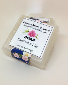 Casablanca Lily Soap - Passion Moon Potions - 1