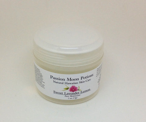 Sweet Lavender Lemon Face Moisturizer - Passion Moon Potions - 1
