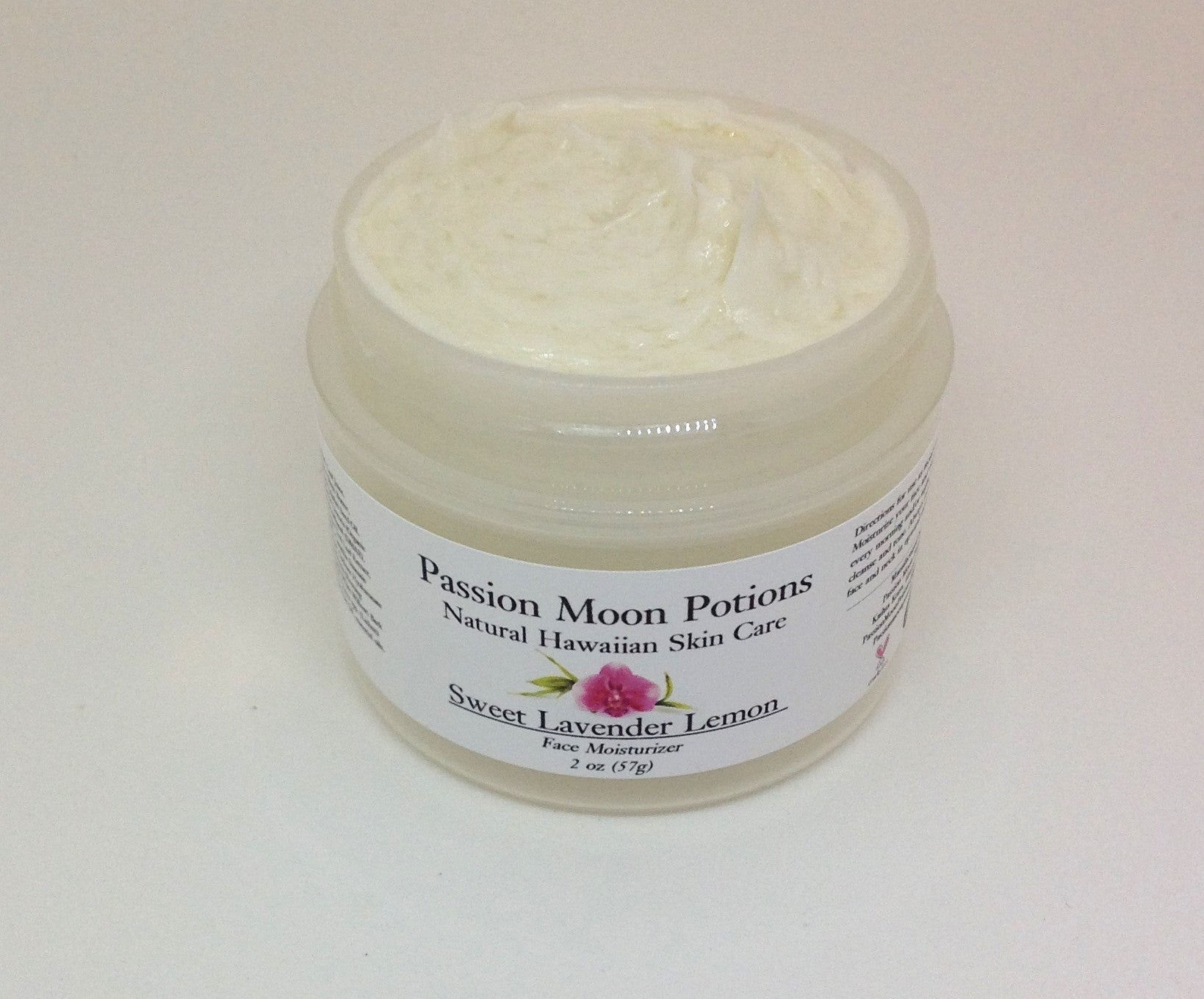 Sweet Lavender Lemon Face Moisturizer - Passion Moon Potions - 2