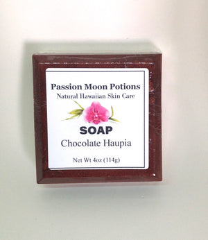 Chocolate Haupia Soap - Passion Moon Potions - 3