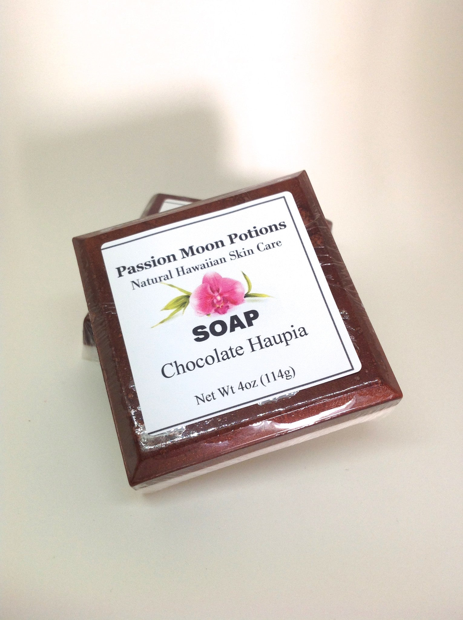 Chocolate Haupia Soap - Passion Moon Potions - 1