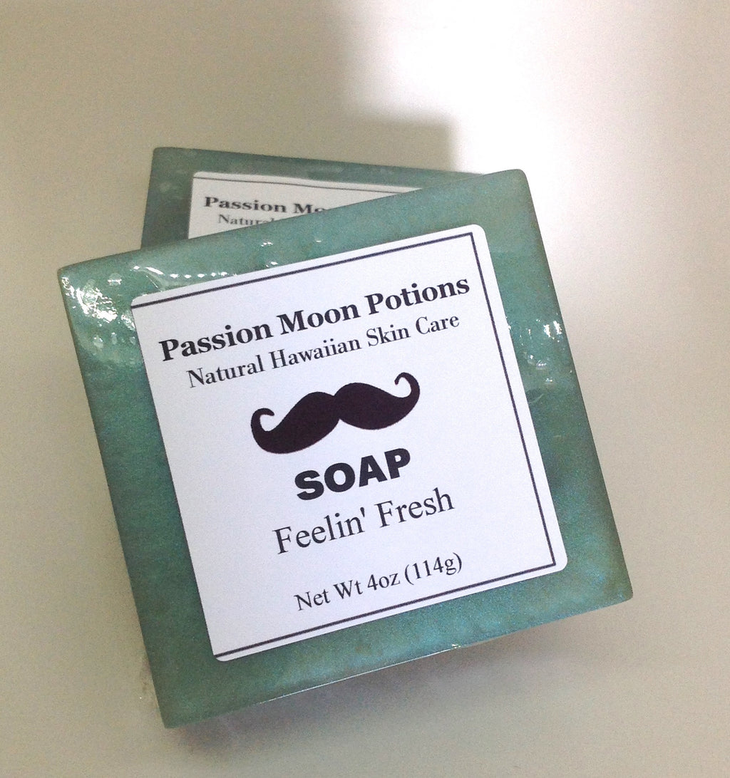 Feelin' Fresh Soap For Men - Passion Moon Potions - 1