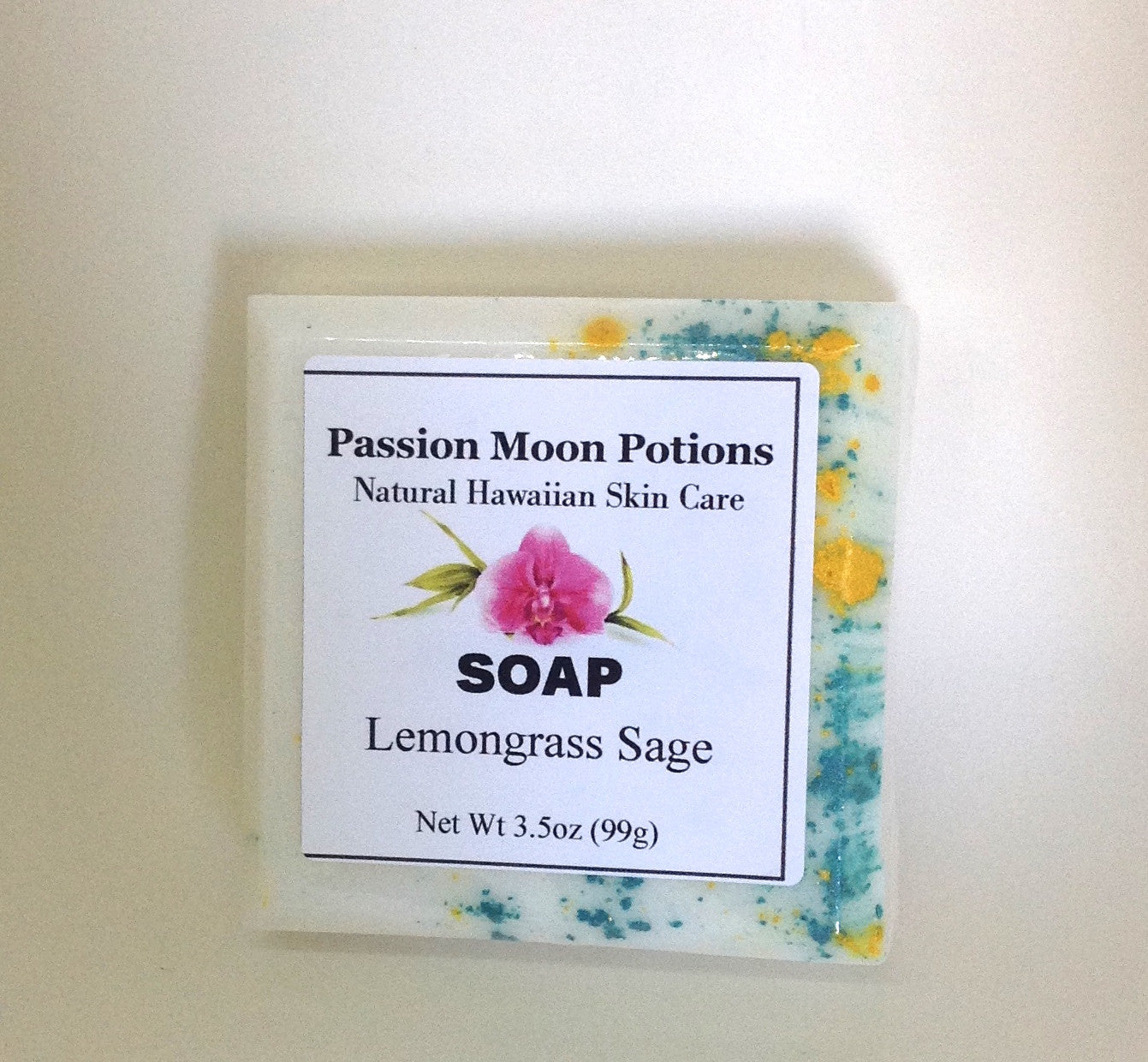 Lemongrass Sage Soap - Passion Moon Potions - 2