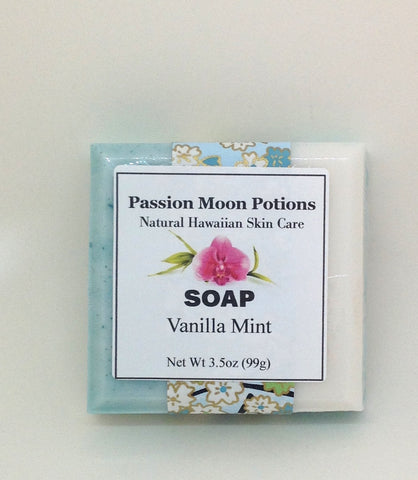 Vanilla Mint Soap - Passion Moon Potions - 1