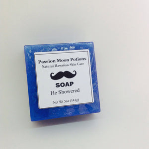 He Showered Soap For Men - Passion Moon Potions - 1