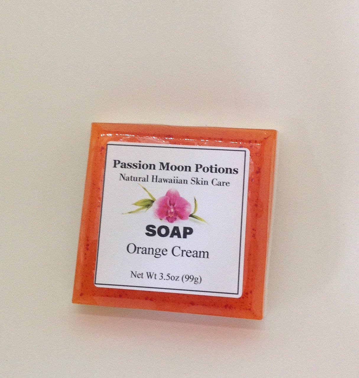 Orange Cream Soap - Passion Moon Potions - 2