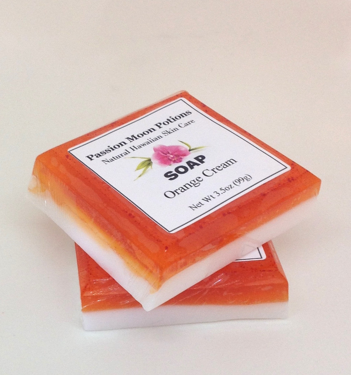 Orange Cream Soap - Passion Moon Potions - 4