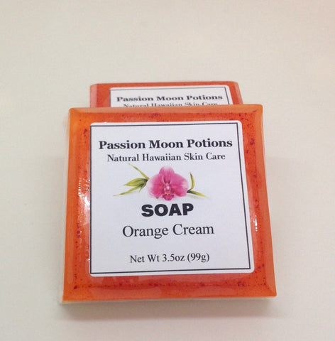 Orange Cream Soap - Passion Moon Potions - 1