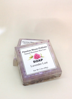 Lavender Lust Soap - Passion Moon Potions - 3
