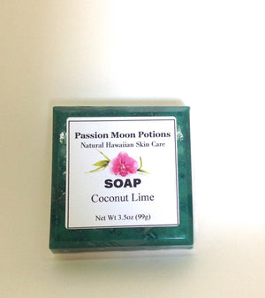Coconut Lime Soap - Passion Moon Potions - 2