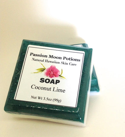 Coconut Lime Soap - Passion Moon Potions - 1