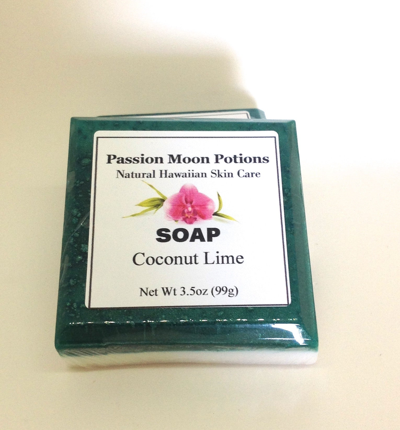 Coconut Lime Soap - Passion Moon Potions - 3