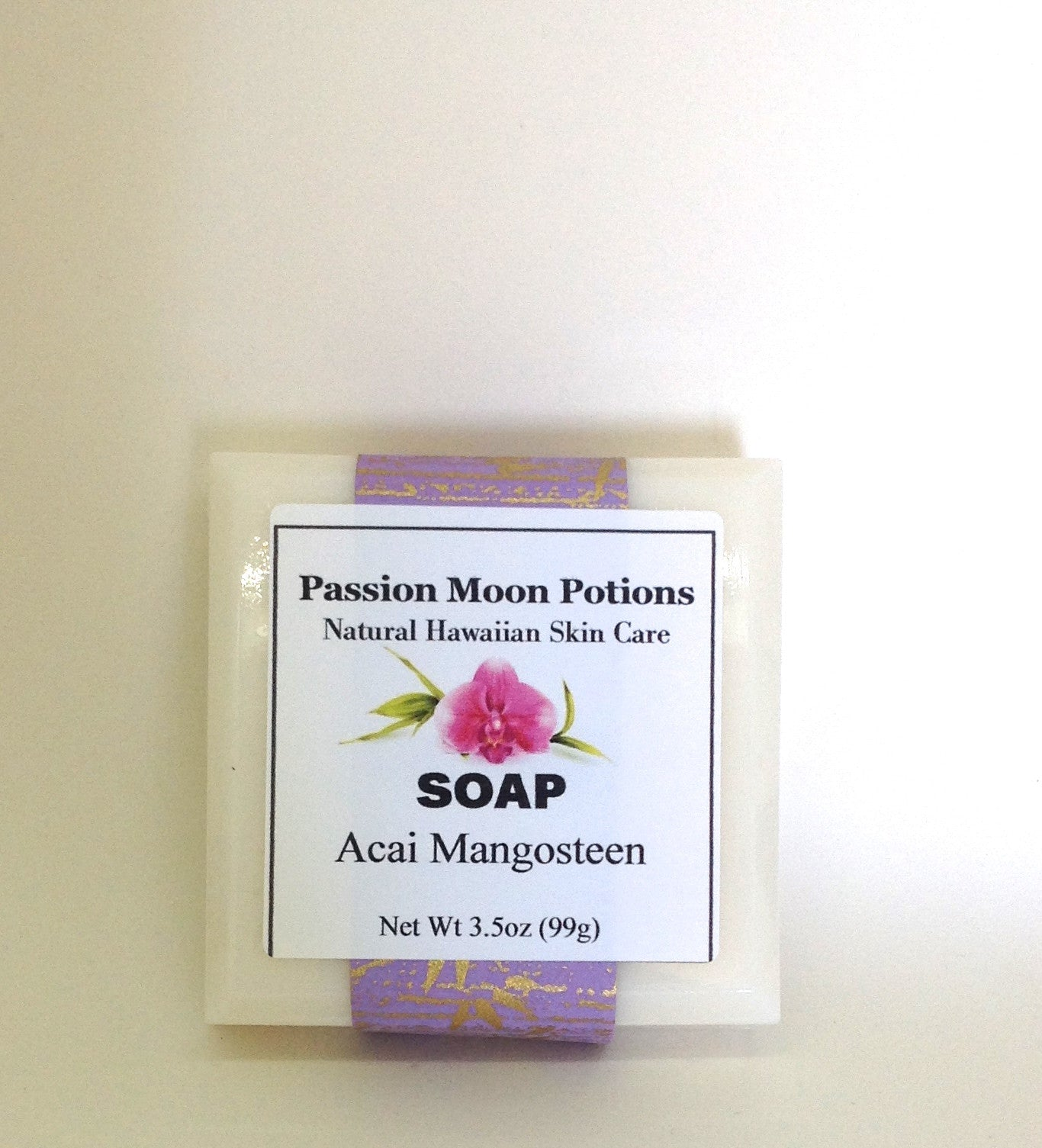 Acai Mangosteen Soap - Passion Moon Potions - 2