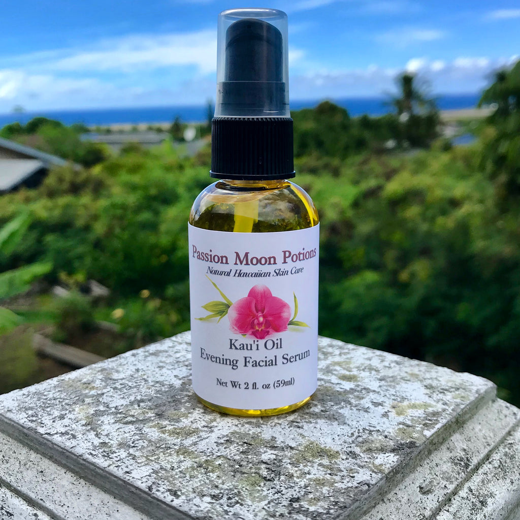 Kau'i Oil Evening Facial Serum