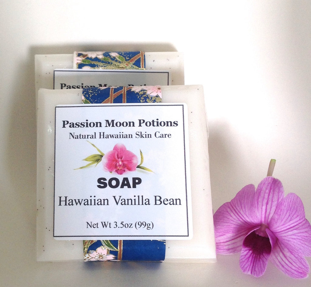 Hawaiian Vanilla Bean Soap - Passion Moon Potions - 1