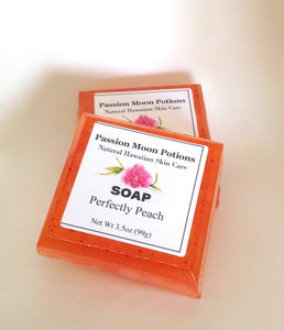 Perfectly Peach Soap - Passion Moon Potions - 1