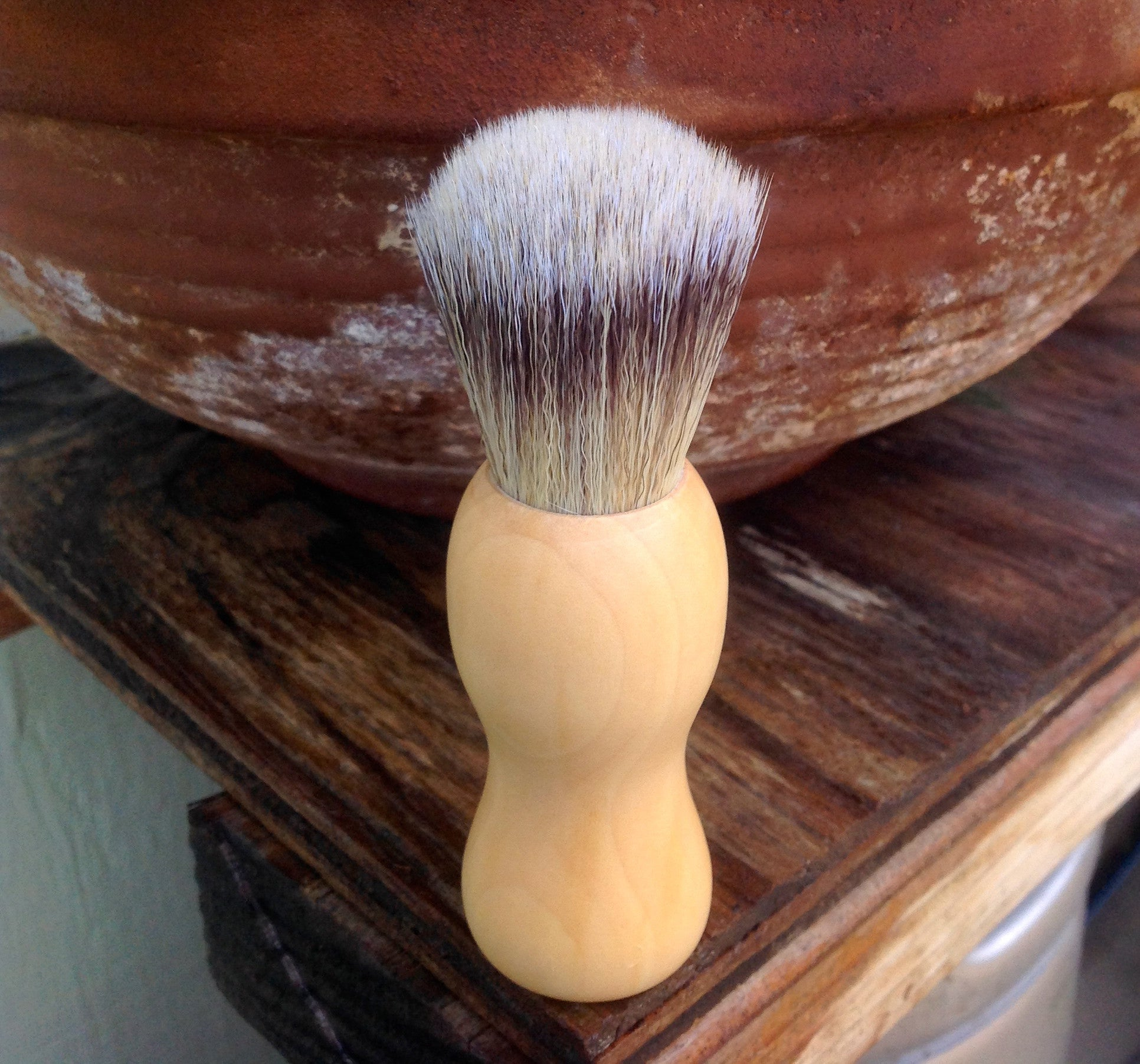 Boar Bristle Shaving Brush - Passion Moon Potions - 1