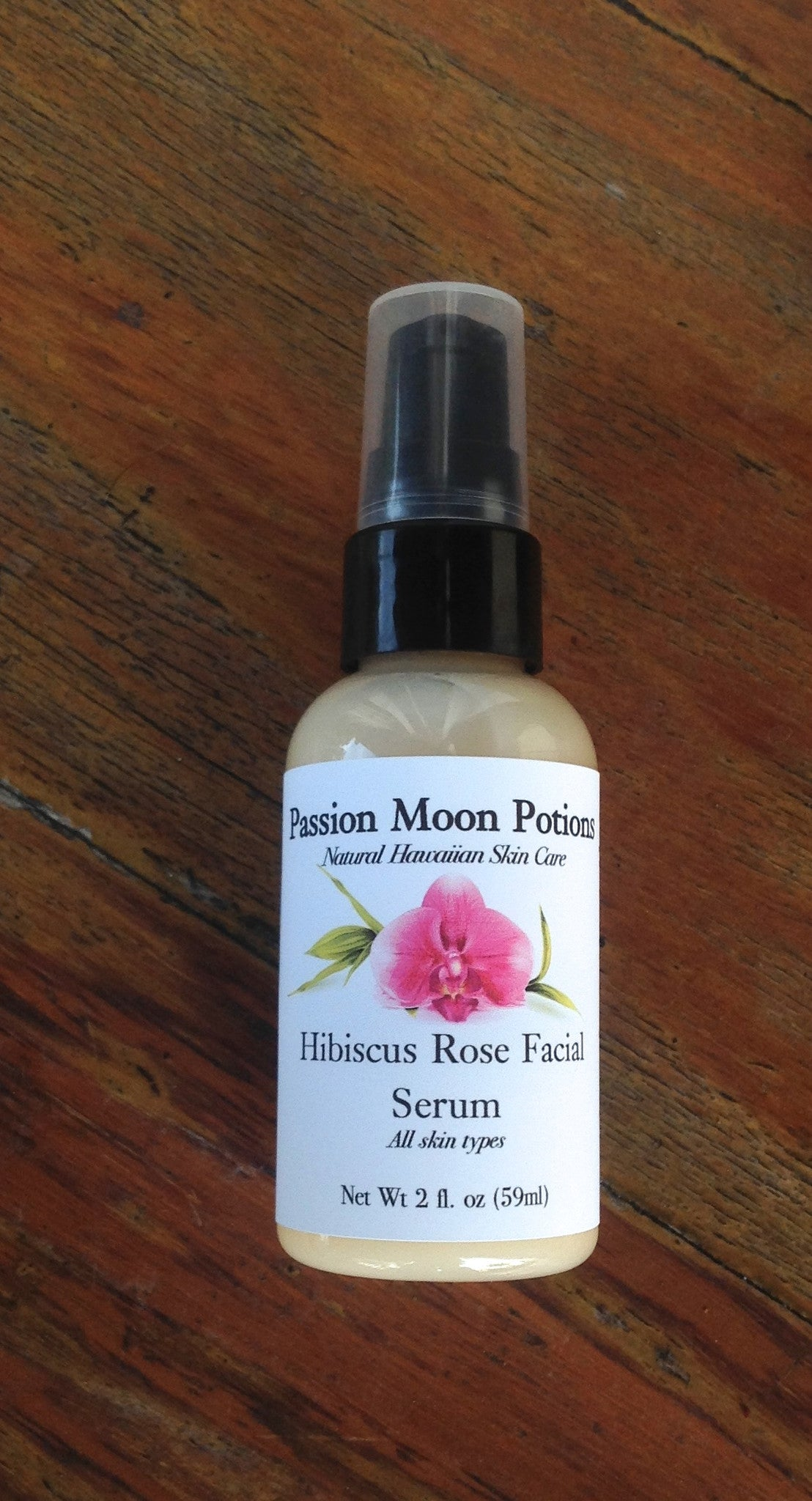 Hibiscus Rose Facial Serum - Passion Moon Potions - 2