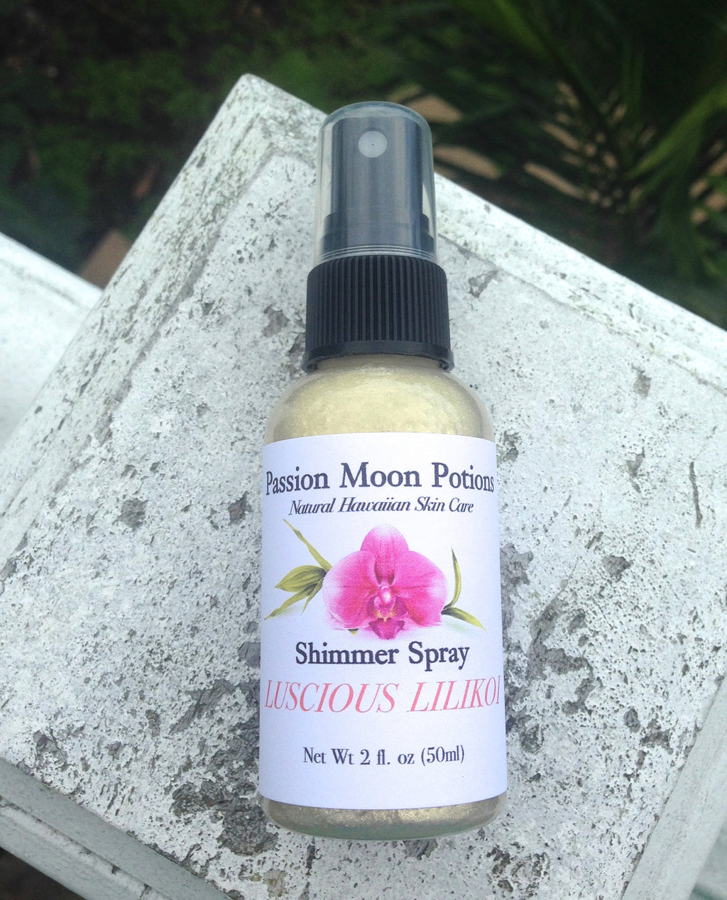 Luscious Lilikoi Shimmer Spray 2oz - Passion Moon Potions - 1