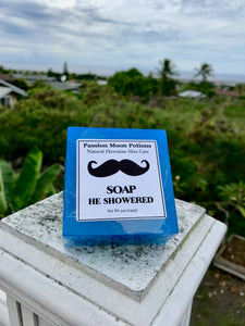 He Showered Soap For Men
