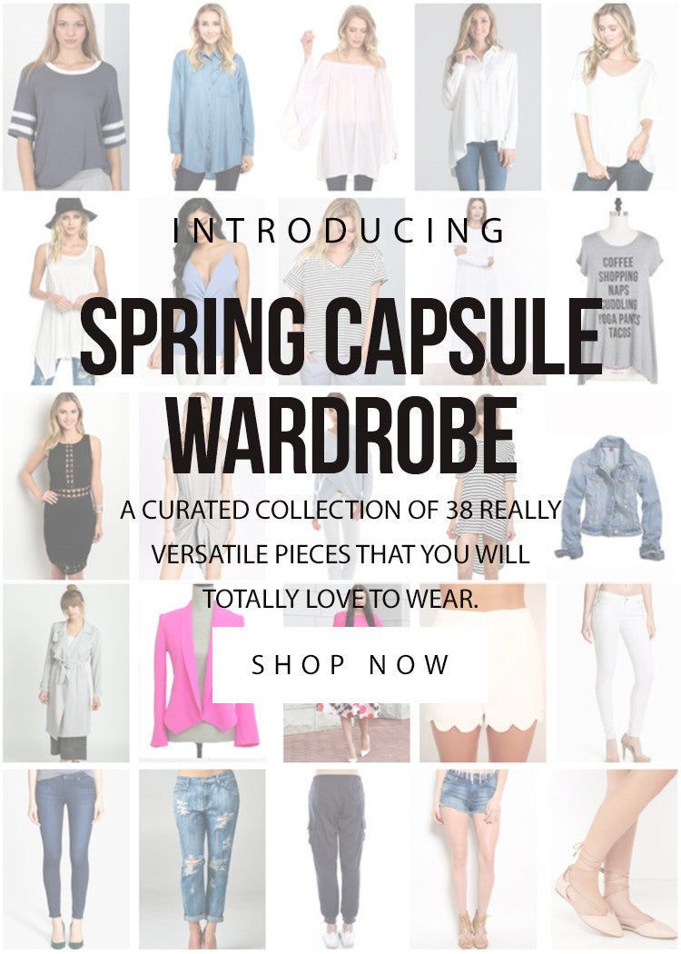 LUCKY DUCK SPRING CAPSULE WARDROBE