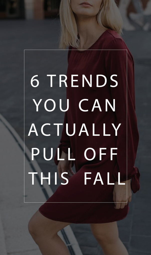 THESE 6 TRENDS ARE SHINING BRIGHT THIS FALL
