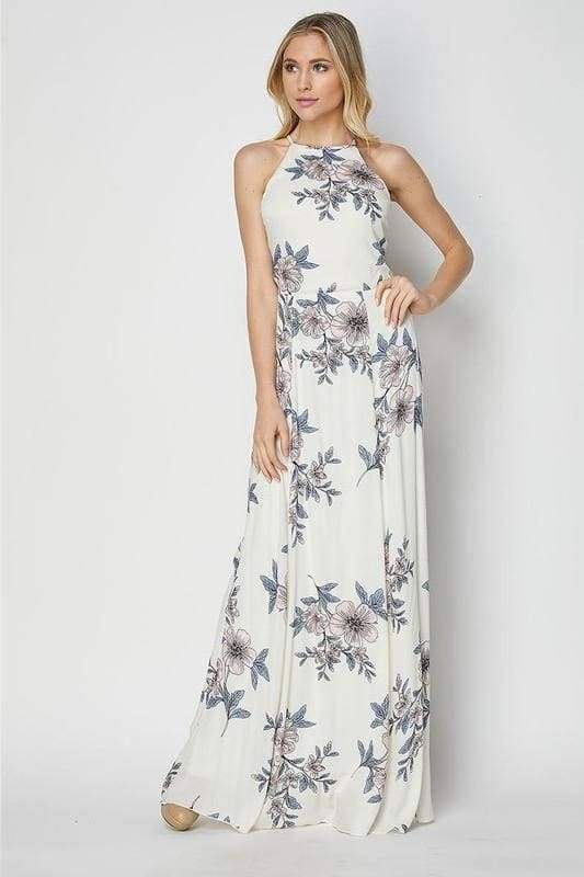Adele Backless Maxi Dress ! - DRESSES - Affordable Boutique Fashion