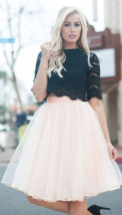 Allure Tulle Mini Skirt - Blush - skirts - Affordable Boutique Fashion
