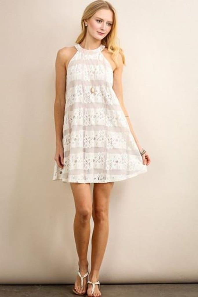 Amelia Lace Dress - dress - Affordable Boutique Fashion