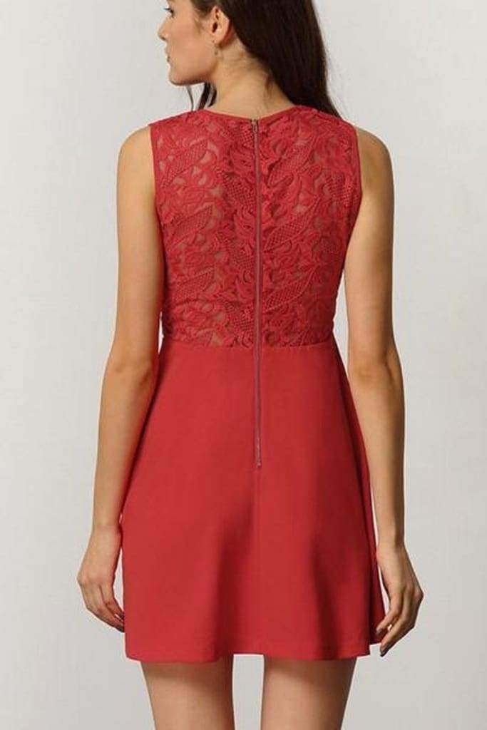 Anastasia Lace Fit and Flare Dress - LAST FEW ! - SALE - Affordable Boutique Fashion