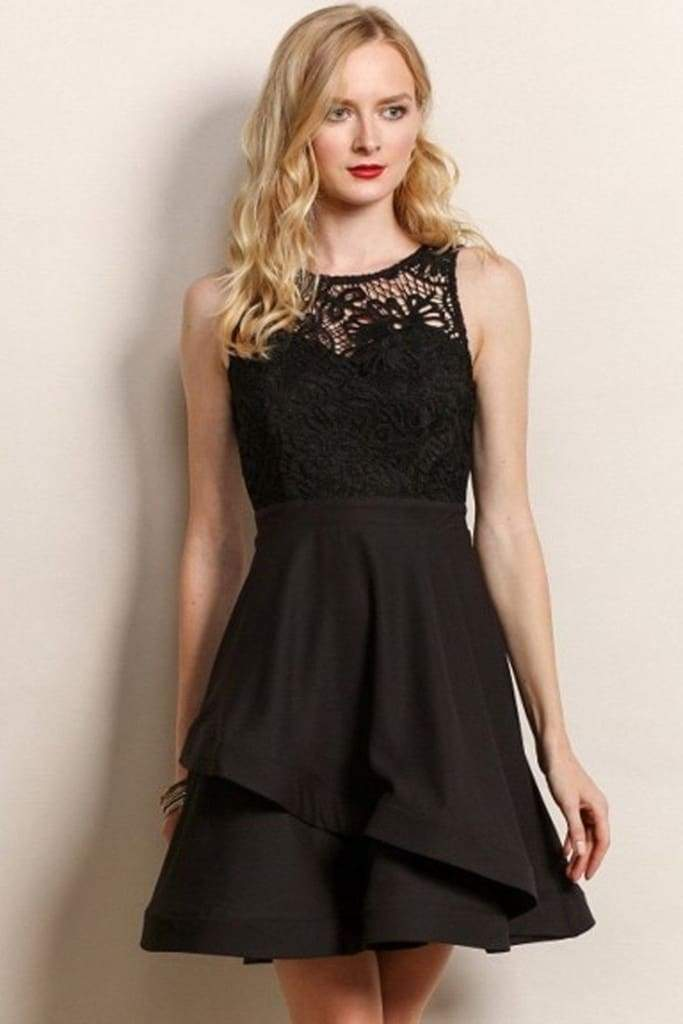 Anastasia Lace Fit and Flare Dress - LAST FEW . - SALE - Affordable Boutique Fashion