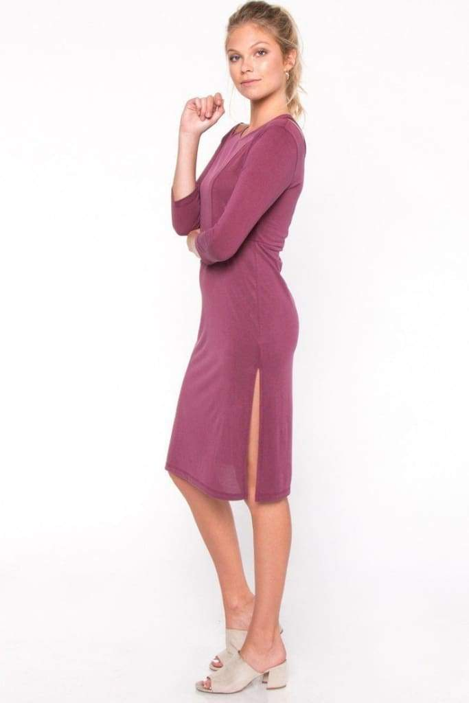 Arie Midi Dress by EVERLY - DRESSES - Affordable Boutique Fashion
