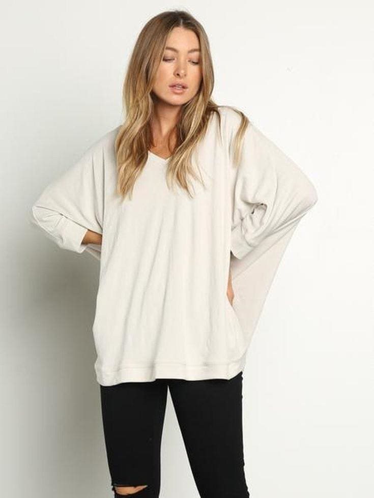 Benny Luxe Basic Knit - Tops - Affordable Boutique Fashion