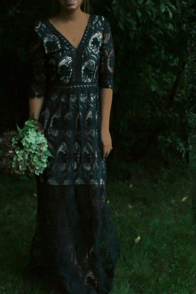 Bentley Embroidered Forest Maxi Dress - Dresses - Affordable Boutique Fashion